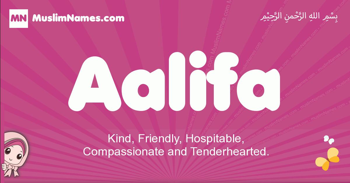 aalifa arabic girls name and meaning, muslim girl name aalifa