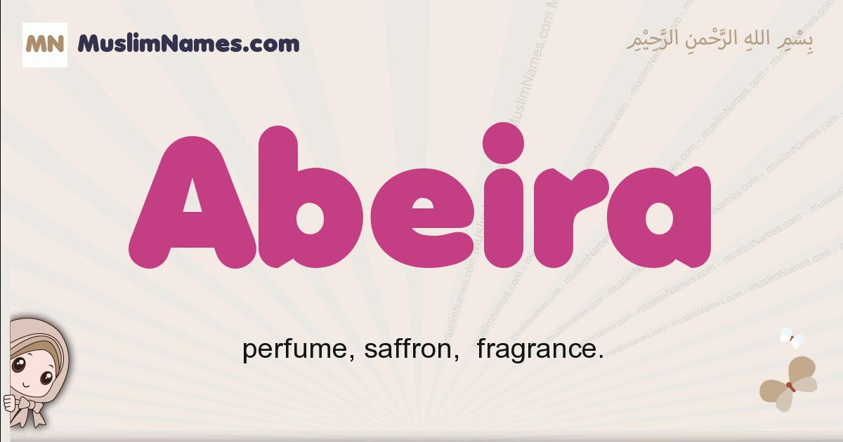 Abeira muslim girls name and meaning, islamic girls name Abeira