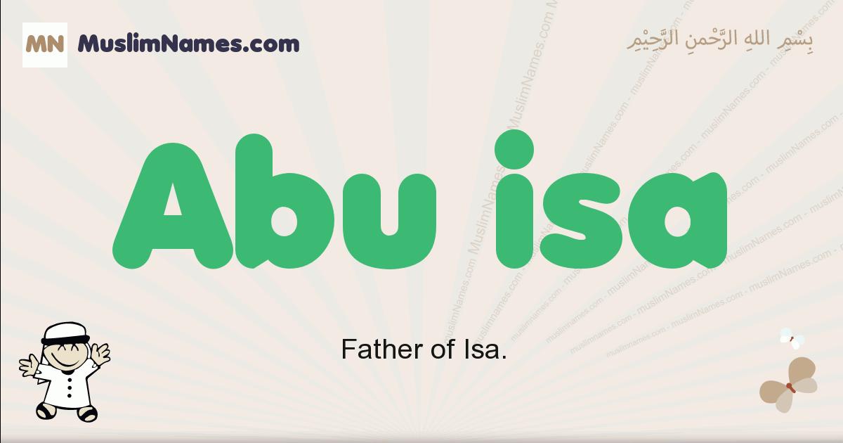 abu_isa muslim boys name and meaning, islamic boys name abu_isa