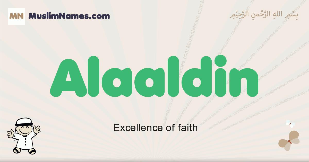 Alaaldin muslim boys name and meaning, islamic boys name Alaaldin