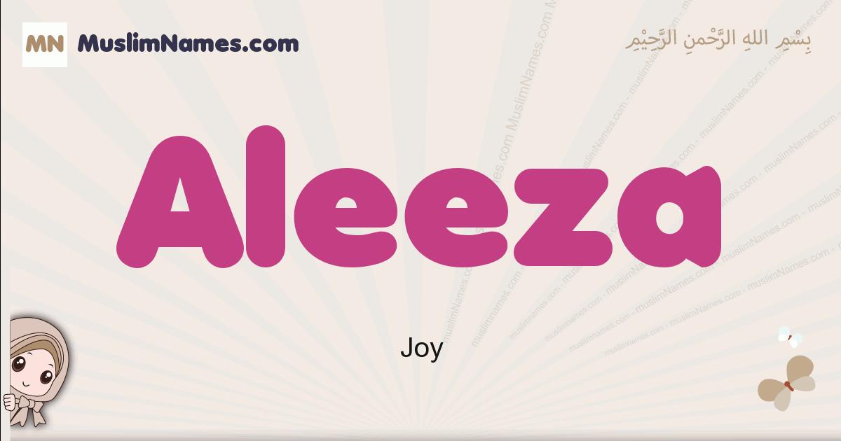 Aleeza muslim girls name and meaning, islamic girls name Aleeza