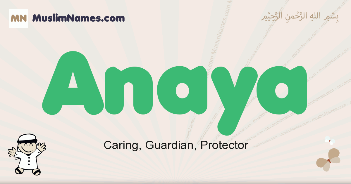 22++ Arabic meaning of name anaya ideas in 2021