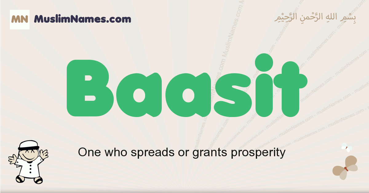 Baasit muslim boys name and meaning, islamic boys name Baasit