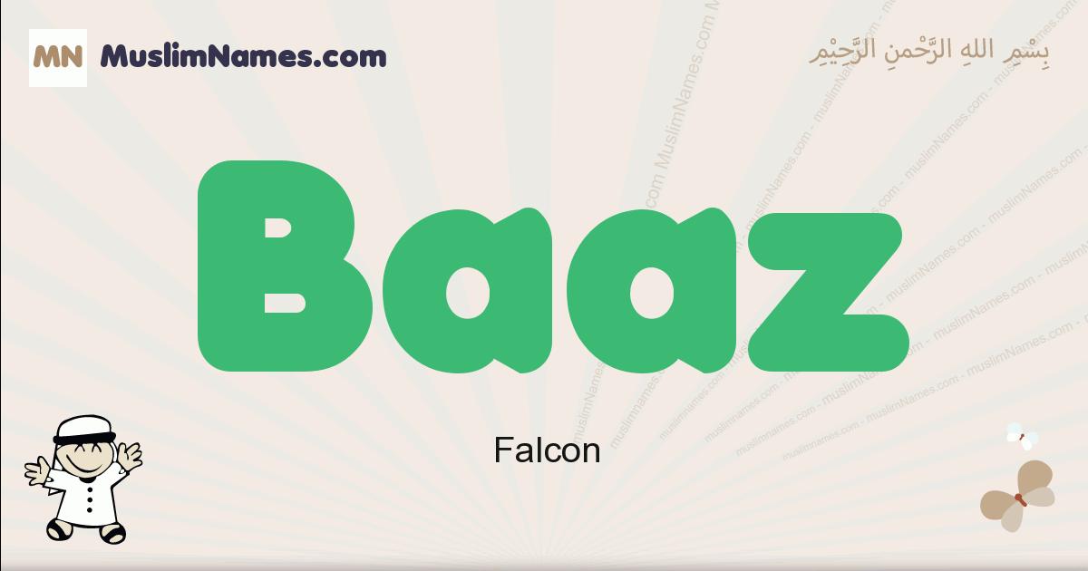 Baaz muslim boys name and meaning, islamic boys name Baaz