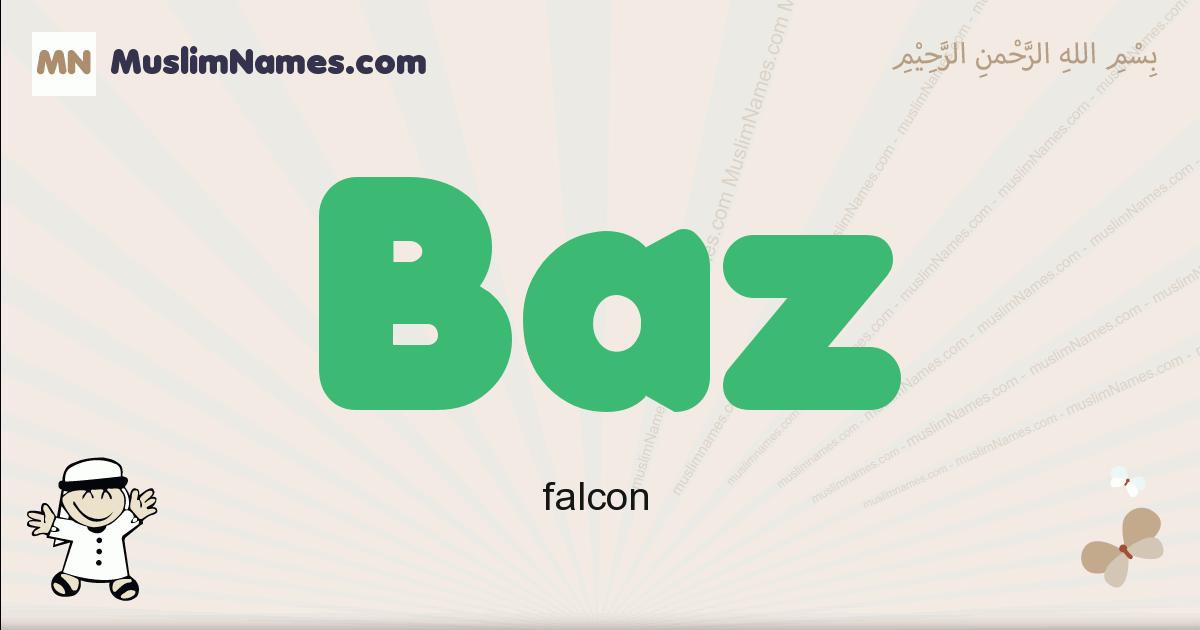 Baz muslim boys name and meaning, islamic boys name Baz