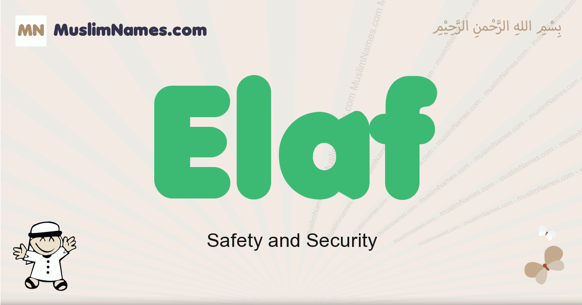 elaf muslim boys name and meaning, islamic boys name elaf