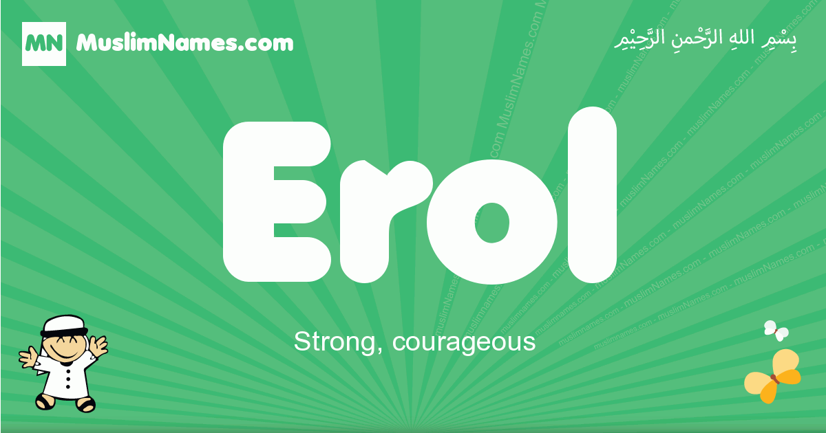 erol arabic boys name and meaning, quranic boys name erol