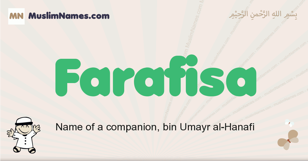Farafisa muslim boys name and meaning, islamic boys name Farafisa