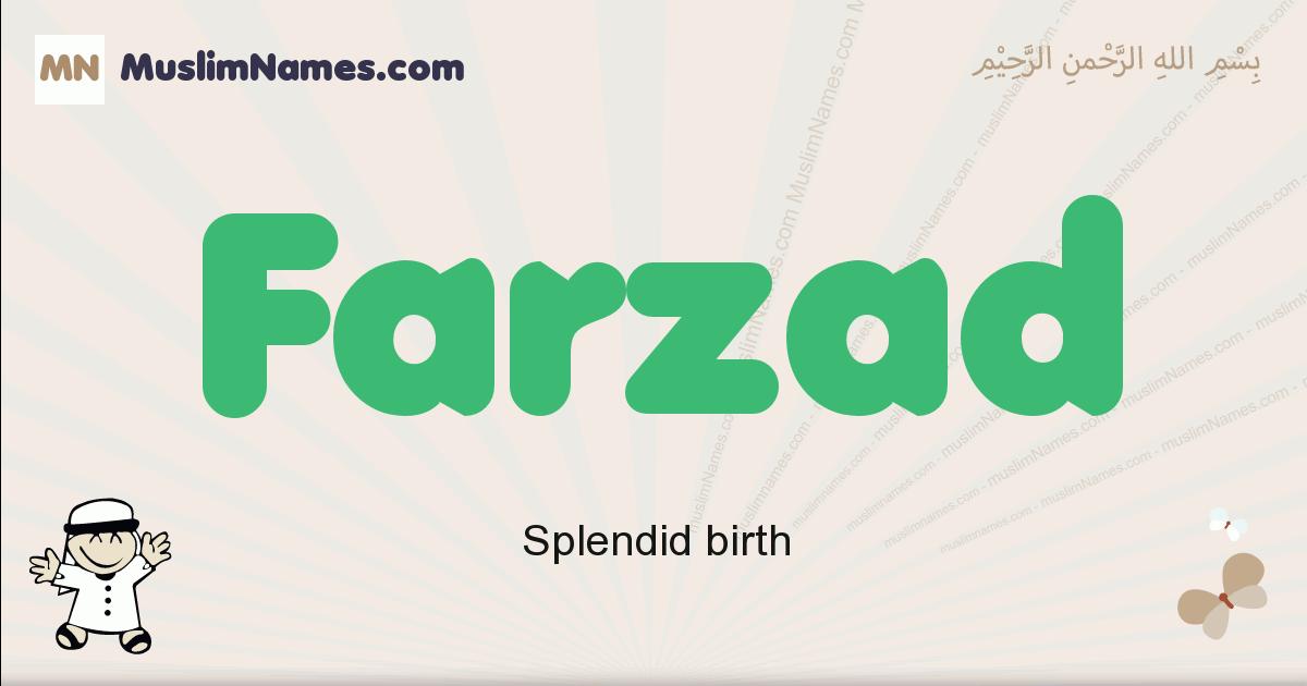 farzad muslim boys name and meaning, islamic boys name farzad