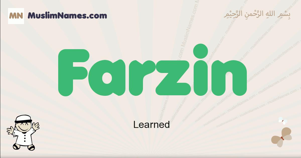 farzin muslim boys name and meaning, islamic boys name farzin