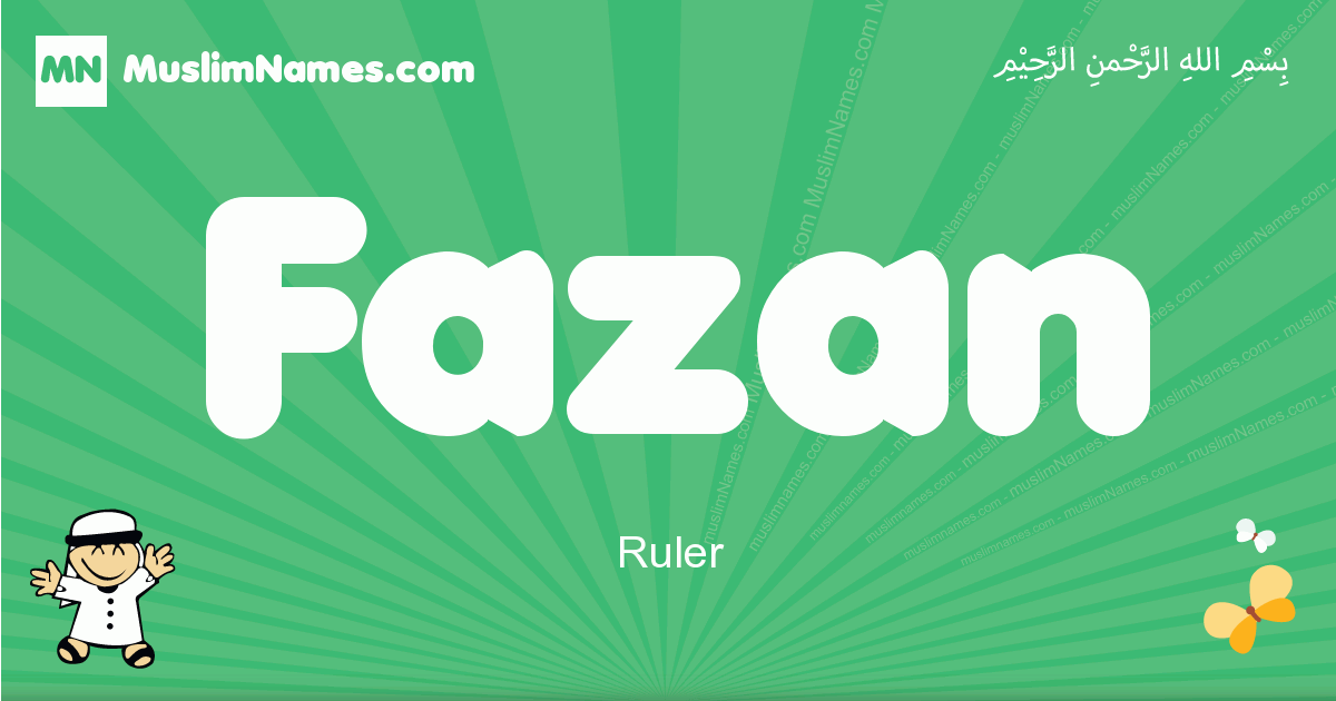 fazan arabic boys name and meaning, quranic boys name fazan