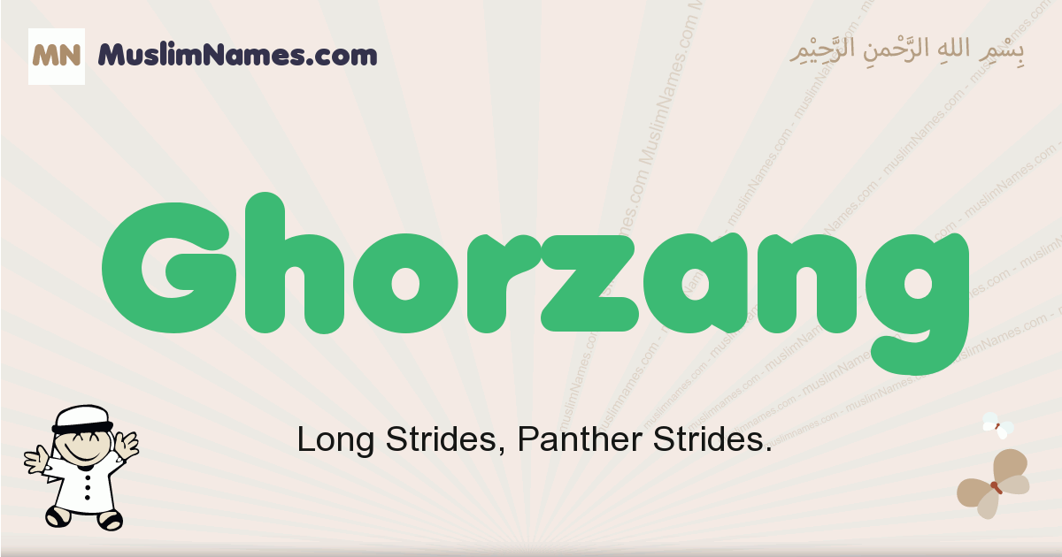 Ghorzang muslim boys name and meaning, islamic boys name Ghorzang