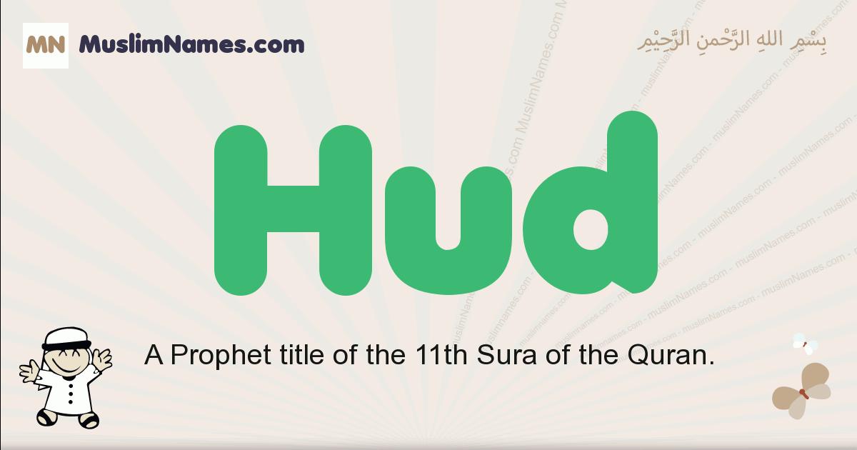 Hud muslim boys name and meaning, islamic boys name Hud