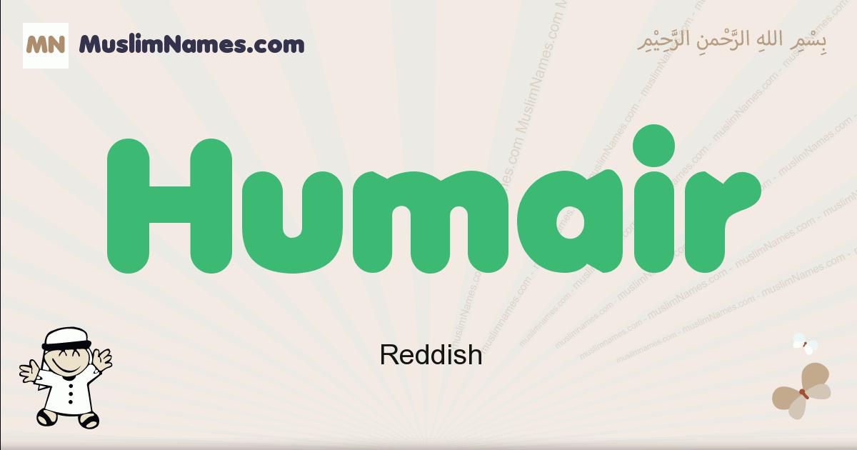 Humair muslim boys name and meaning, islamic boys name Humair