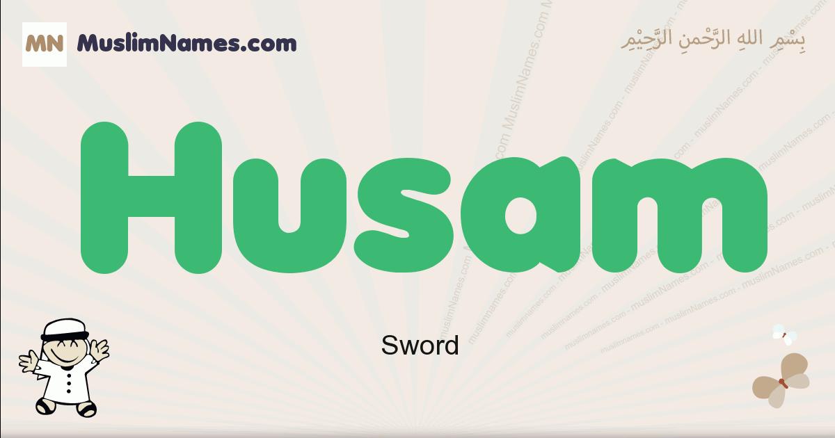 Husam muslim boys name and meaning, islamic boys name Husam