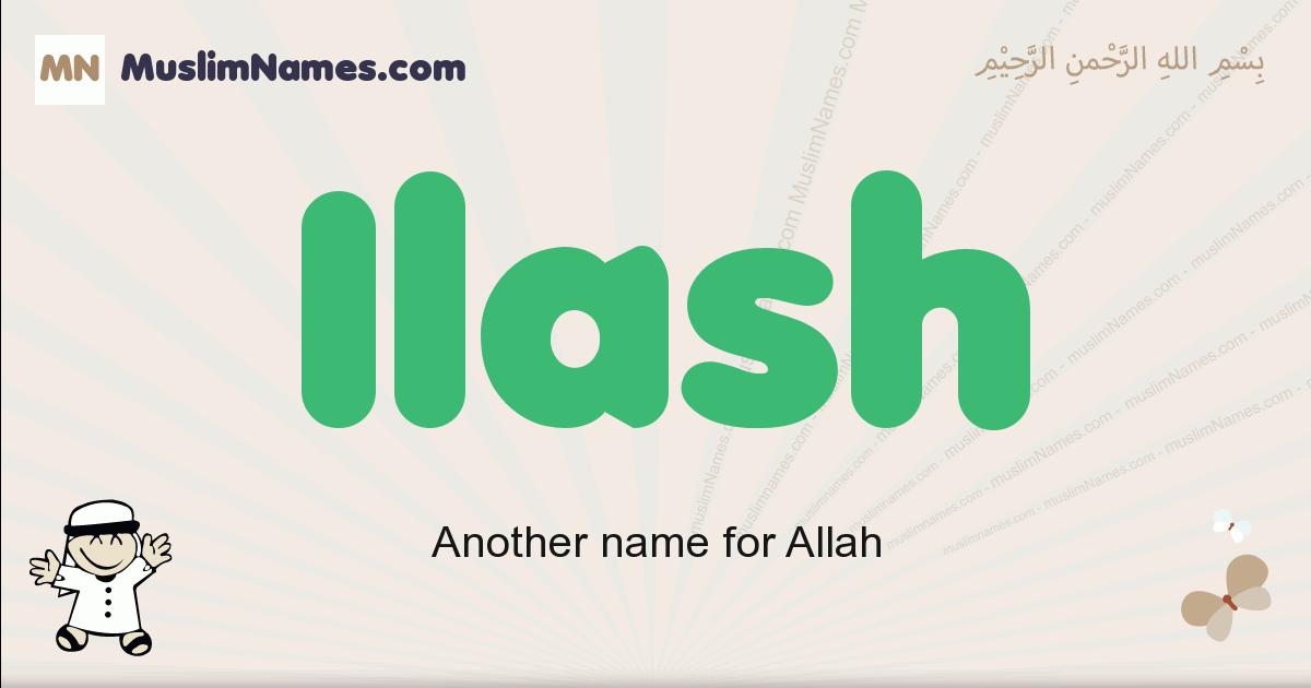 Ilash muslim boys name and meaning, islamic boys name Ilash