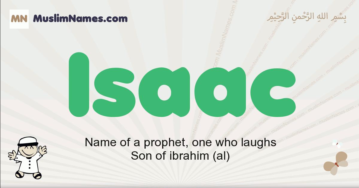 isaac muslim boys name and meaning, islamic boys name isaac