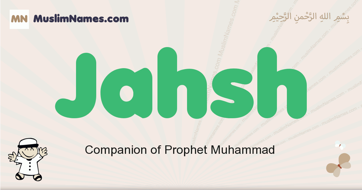 jahsh muslim boys name and meaning, islamic boys name jahsh