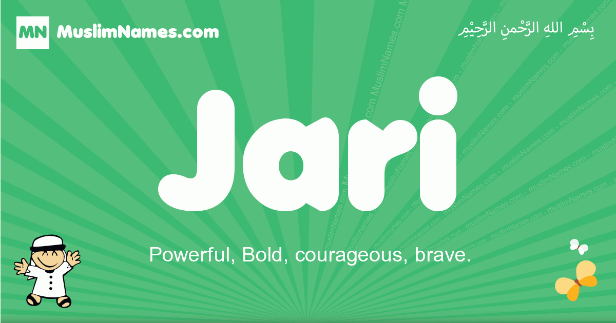 jari arabic boys name and meaning, quranic boys name jari