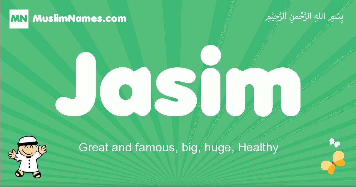 jasim arabic boys name and meaning, quranic boys name jasim