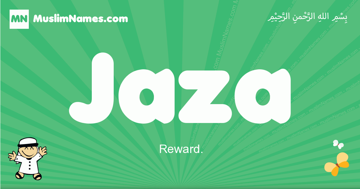 jaza arabic boys name and meaning, quranic boys name jaza