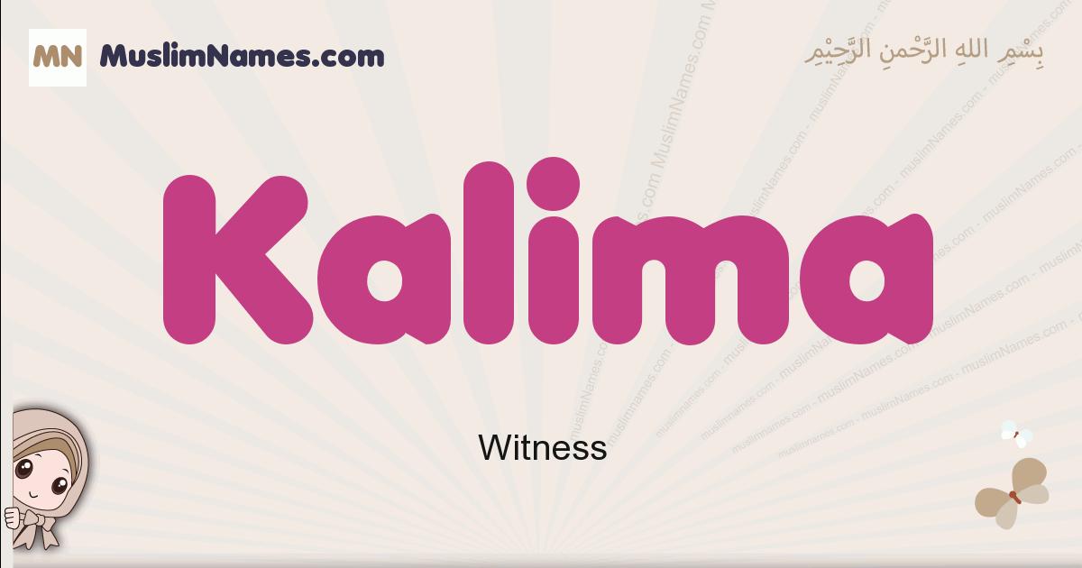Kalima muslim girls name and meaning, islamic girls name Kalima