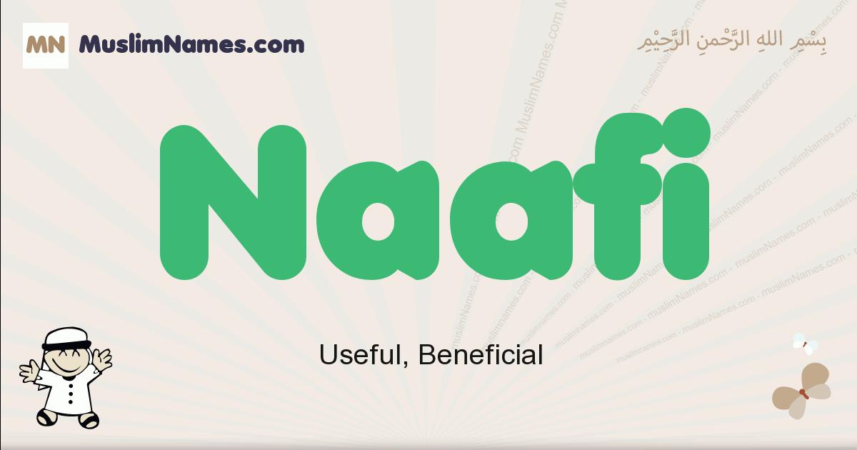 Naafi muslim boys name and meaning, islamic boys name Naafi