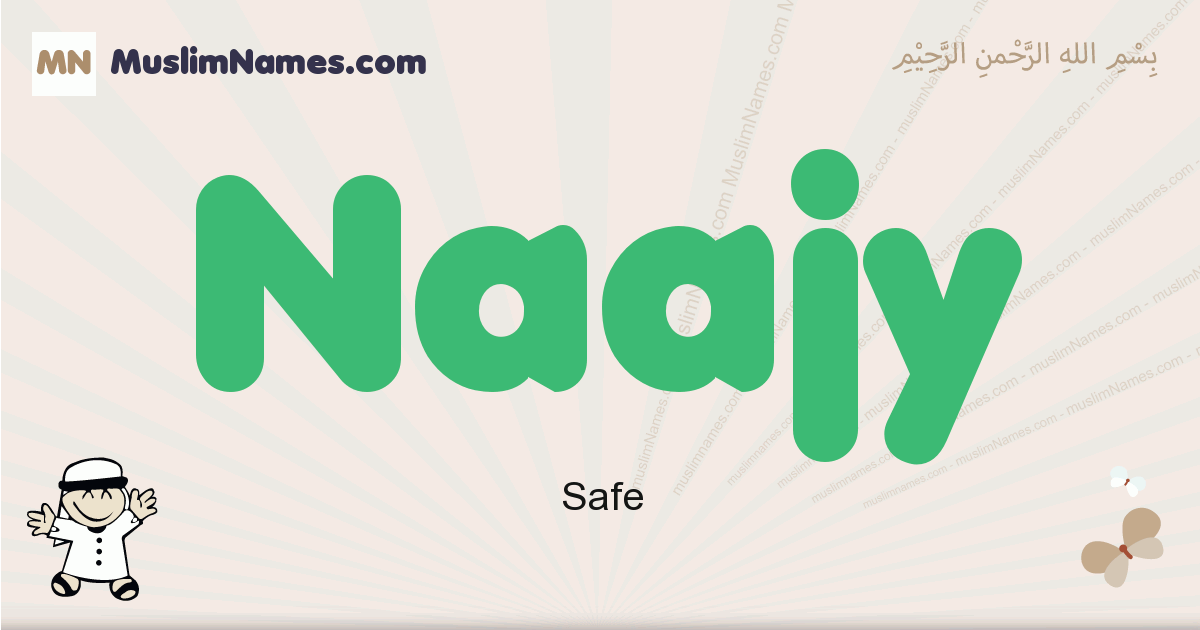Naajy muslim boys name and meaning, islamic boys name Naajy