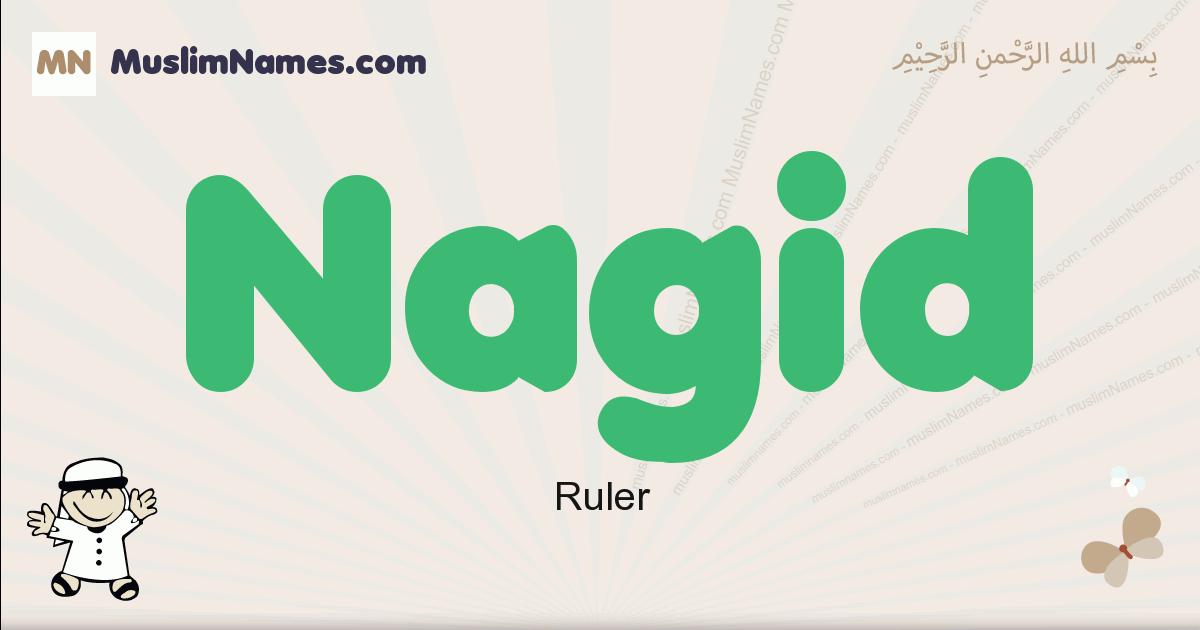Nagid muslim boys name and meaning, islamic boys name Nagid