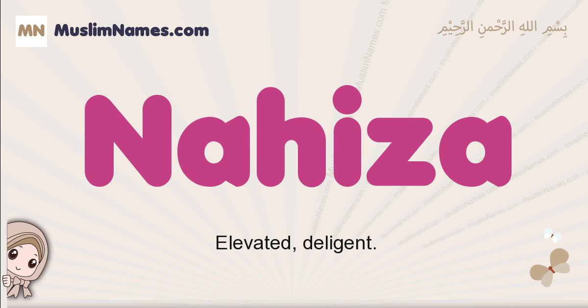 Nahiza muslim girls name and meaning, islamic girls name Nahiza