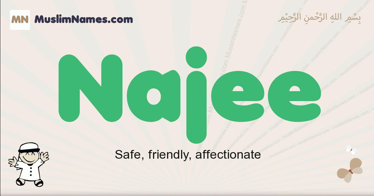 Najee muslim boys name and meaning, islamic boys name Najee