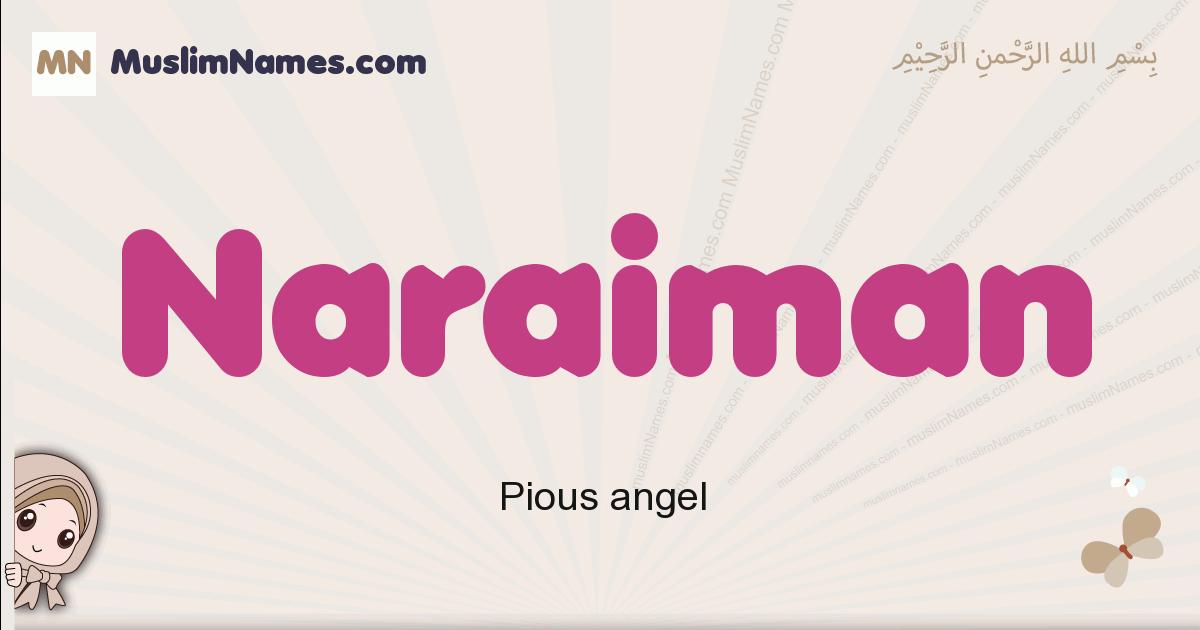 Naraiman muslim girls name and meaning, islamic girls name Naraiman