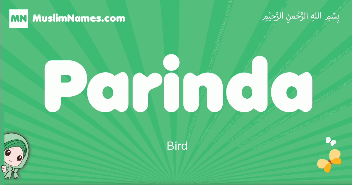 parinda arabic girl name and meaning, quranic girls name parinda