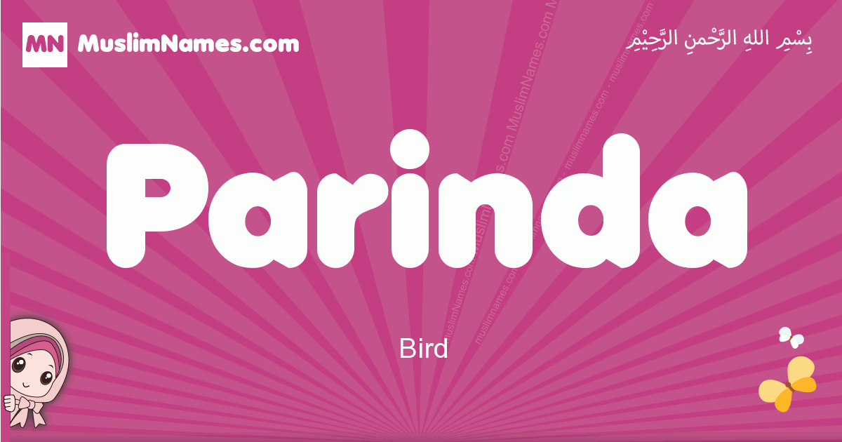 parinda arabic girls name and meaning, muslim girl name parinda