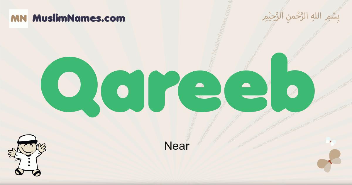 Qareeb muslim boys name and meaning, islamic boys name Qareeb