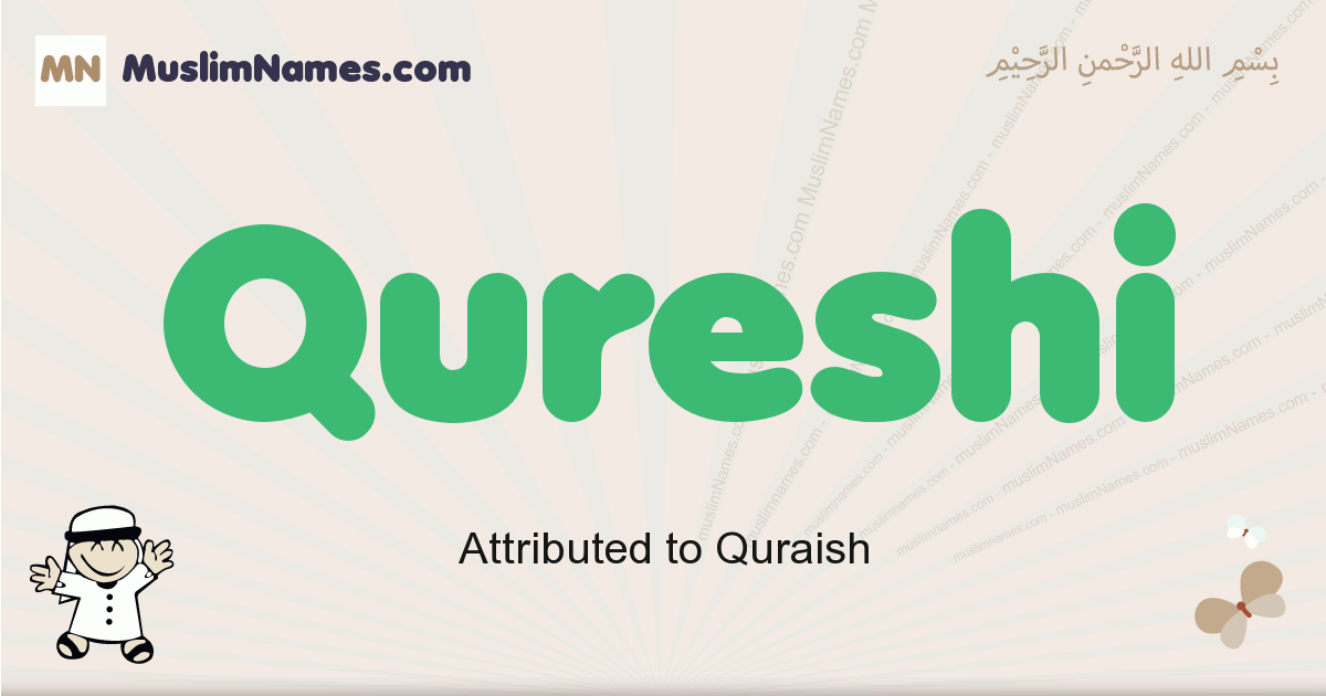 Qureshi muslim boys name and meaning, islamic boys name Qureshi