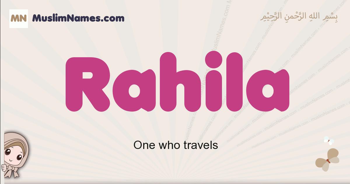 Rahila muslim girls name and meaning, islamic girls name Rahila
