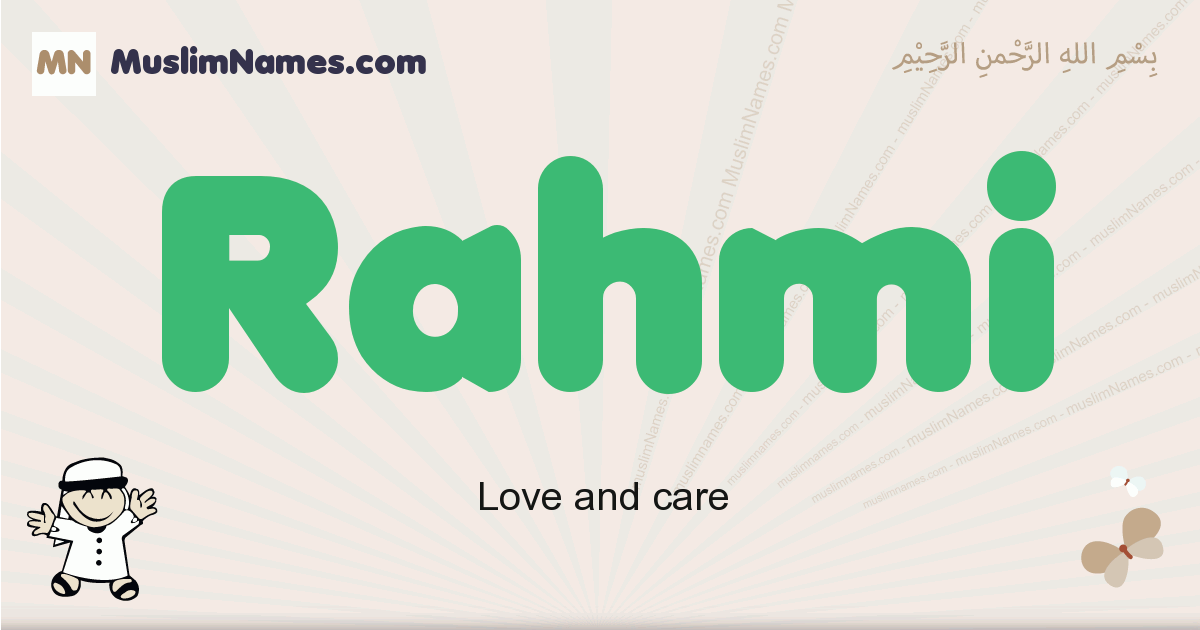 Rahmi muslim boys name and meaning, islamic boys name Rahmi
