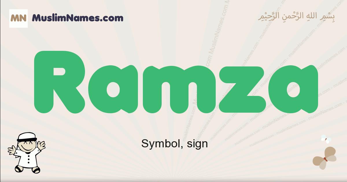 Ramza muslim boys name and meaning, islamic boys name Ramza