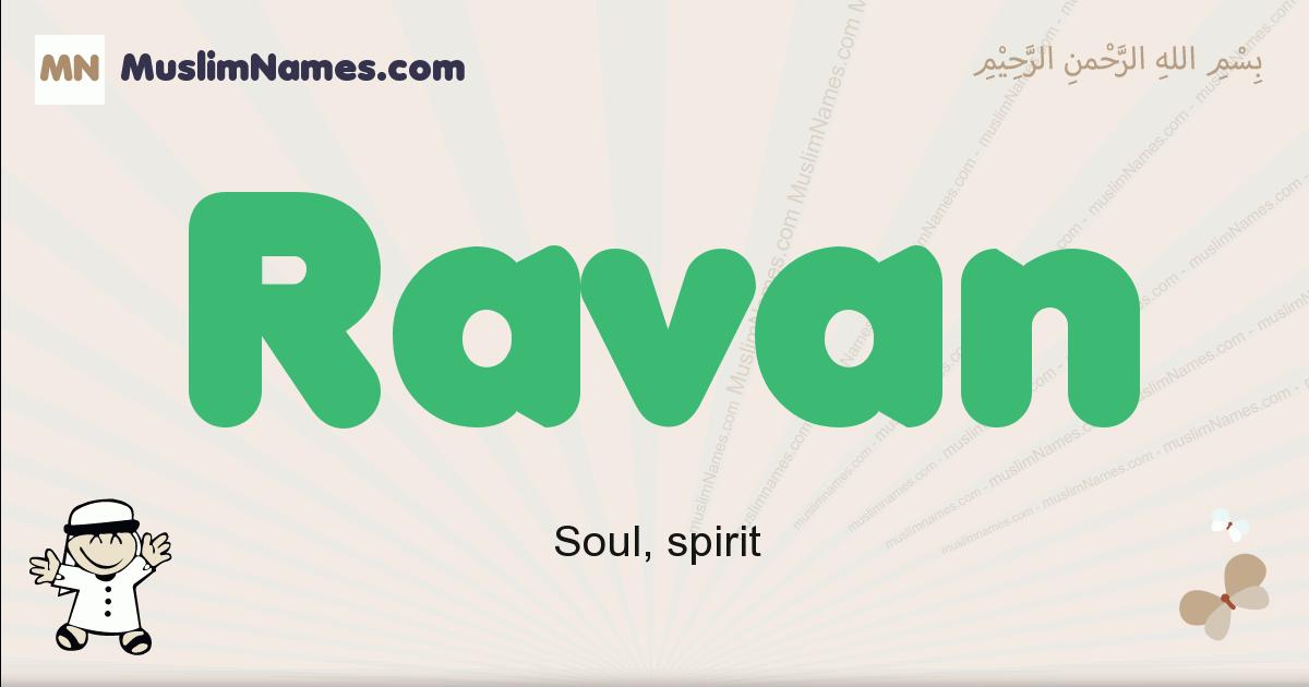 Ravan muslim boys name and meaning, islamic boys name Ravan