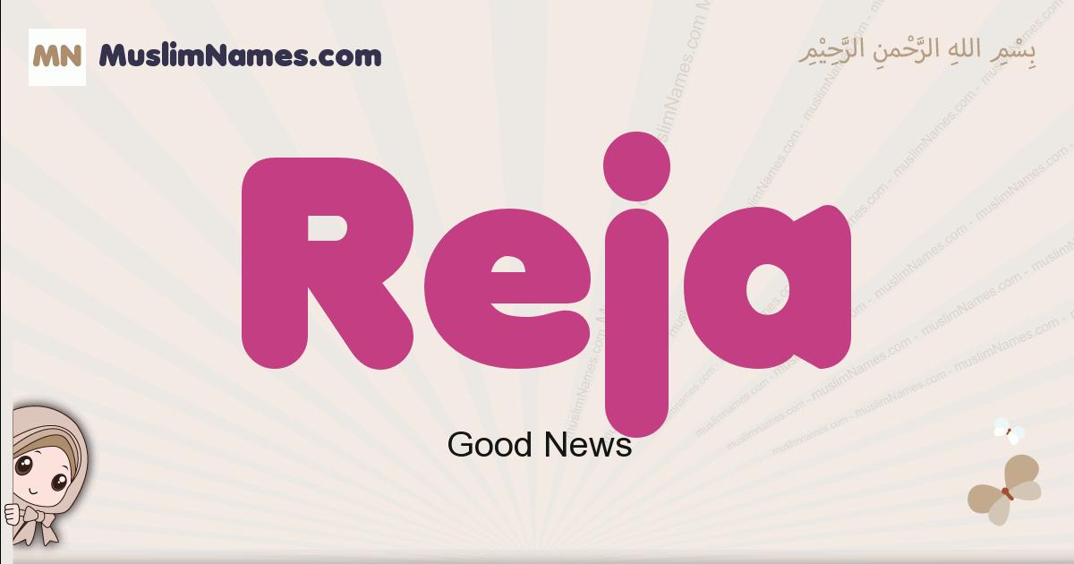 Reja muslim girls name and meaning, islamic girls name Reja