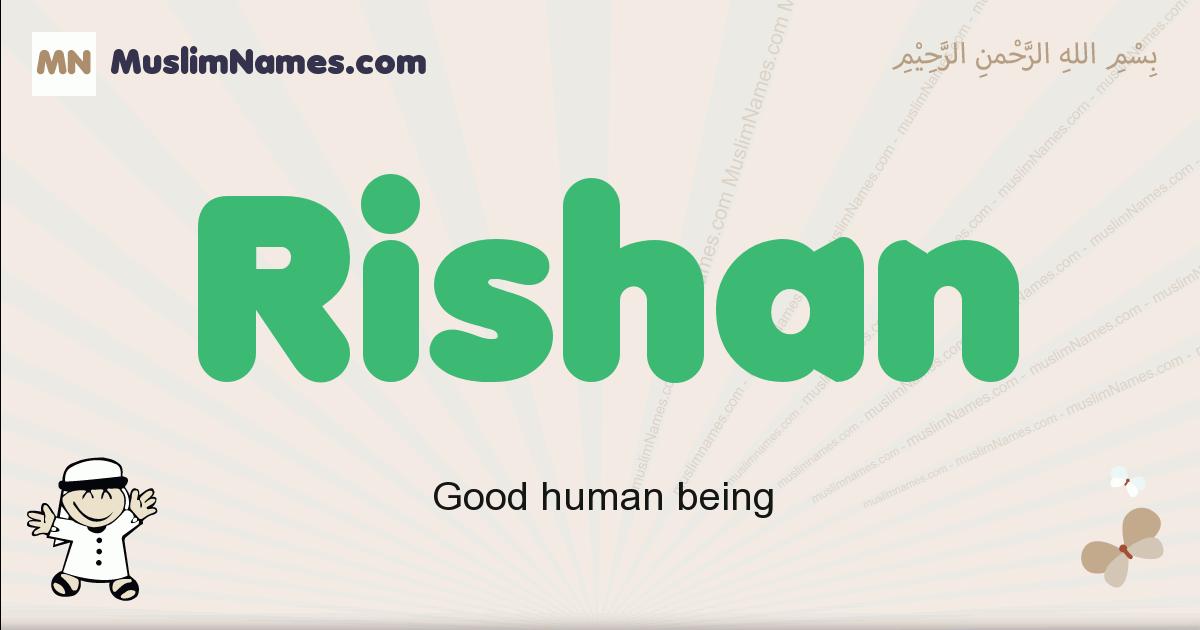 Rishan muslim boys name and meaning, islamic boys name Rishan