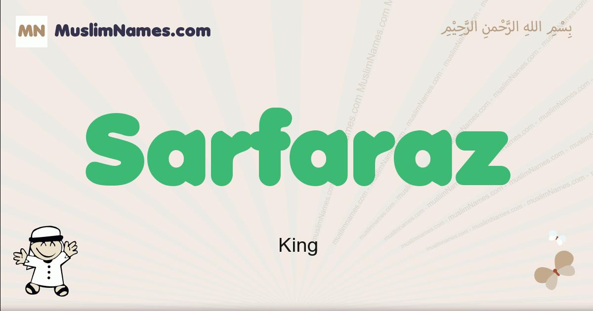 Sarfaraz muslim boys name and meaning, islamic boys name Sarfaraz