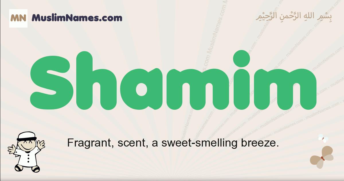 Shamim muslim boys name and meaning, islamic boys name Shamim