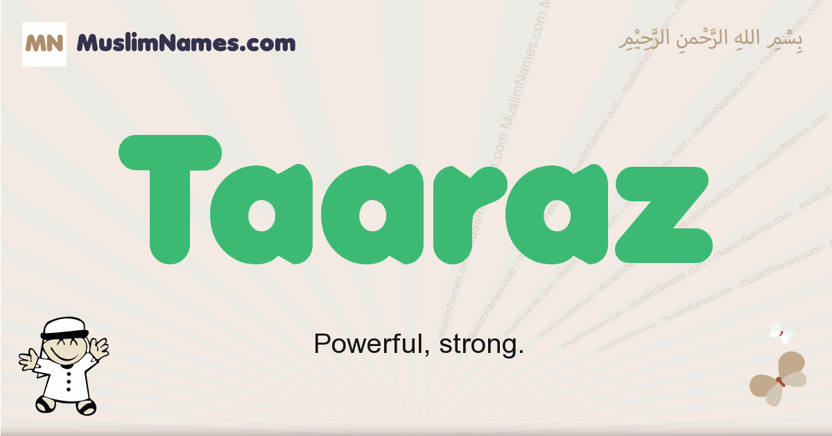 Taaraz muslim boys name and meaning, islamic boys name Taaraz