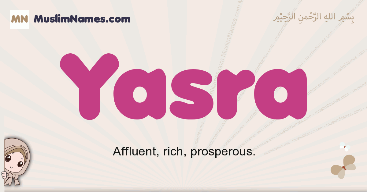 Yasra muslim boys name and meaning, islamic boys name Yasra