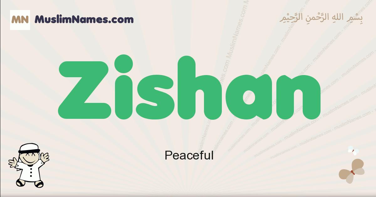 Zishan muslim boys name and meaning, islamic boys name Zishan